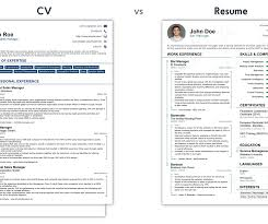 cv vs resume the differences curriculum resume difference difference resume retail specialist