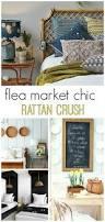 flea market chic rattan crush bhg style spotters