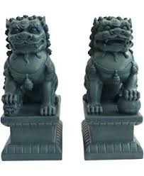 foo lions for sale asian foo dogs fu dogs garden statues pair