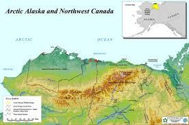 us map of alaska arctic alaska and northwest canada map northern alaska us mappery