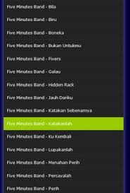 download mp3 five minutes sepi hatiku lagu five minutes terlengkap mp3 for android apk download