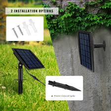 Solar Powered Water Features With Led Lights by Solar Power Fountain Underwater Pump Led Lights Water Features