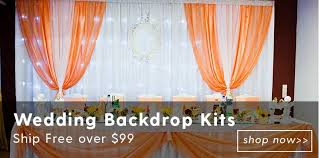 professional wedding backdrop kit buy pipe and drape wholesale eventstable