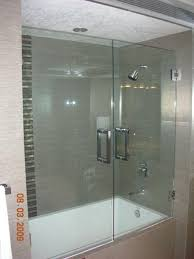 Bathtubs With Glass Shower Doors Bathtub Shower Doors Frameless Design Ideas Decors Ultra