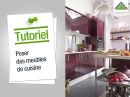 pose de cuisine comment poser des meubles de cuisine leroy merlin