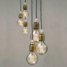 pendant lights set of three bulb pendant lights unique s co