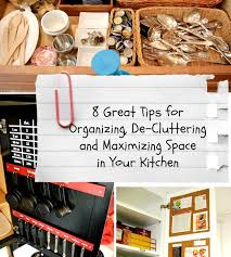 ideas for kitchen organization organizing your kitchen tipsaholic