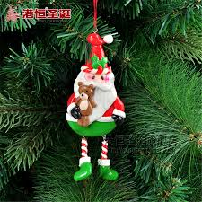 aliexpress com buy christmas tree ornaments ceramic santa claus