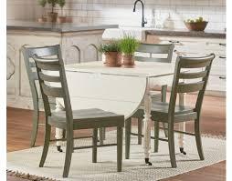 windsor oval dining table w drop leaf by magnolia home turner u0027s