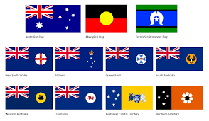 the australian flag and flag flying u2013 australia day