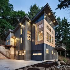 beadboard siding exterior exterior midcentury with concrete