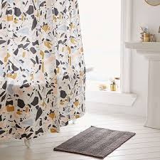 Stylish Shower Curtains Colorful Shower Curtain Home Design Ideas