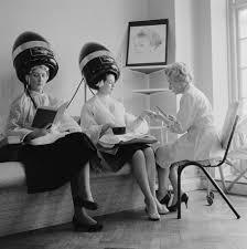 sissy boys under hair dryers these vintage hair dryer photos make it seem cool under the hood
