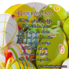 free easter poems poems