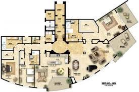Floor Plan Generator 32 House Floor Plans In Color Architectural Floor Plans Regarding