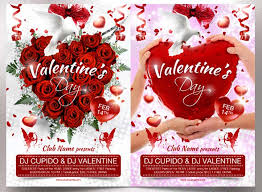 share the love with 49 valentine u0027s day templates flyers and cards