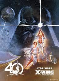 x wing star wars 40th anniversary
