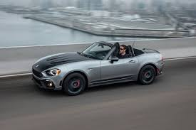 fiat spider white 2018 fiat 124 spider abarth pricing for sale edmunds