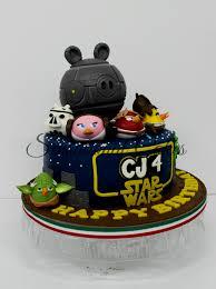sensational star wars birthday cake portrait best birthday