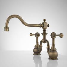 bridge faucet polished nickelen faucets pull down sink rohl