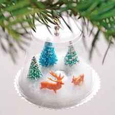 25 handmade christmas ideas plastic cups globe and snow