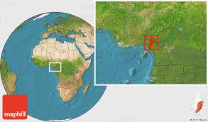 Meme Land - satellite location map of meme