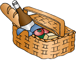 thanksgiving food basket clip clip library