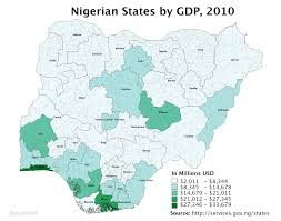 World Map Lagos by List Of Nigerian States By Gdp Wikipedia