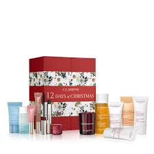 12 days of christmas calendar what s new clarins 12 20days 20of 20christmas 20calendar