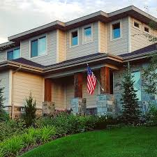 American Flag House Free Stock Photo Of American Flag Home