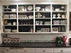 open kitchen cabinet ideas open cabinet look diy ideas projects want to do s