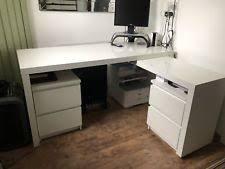 bureau malm ikea hemnes white bureau desk ebay