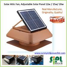 sunny roof fan 3 blades wind turbine ventilator solar powered