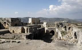 Krak Des Chevaliers by Syria Troops Damage Historic Crusader Castle In Siege