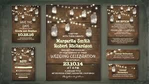 country chic wedding invitations read more rustic wedding invitation with string lights