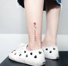50 ankle tattoos ideas for and 2018 page 4 of 5