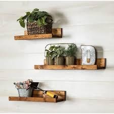 Free Floating Shelves by Floating U0026 Hanging Shelves You U0027ll Love Wayfair