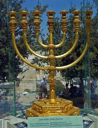 jerusalem menorah the temple institute the holy temple menorah today
