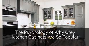 kitchen cabinets gray stain the psychology of why gray kitchen cabinets are so popular