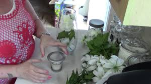 diy home decor how to style a crystal candle holder youtube
