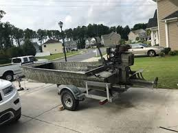 Mud Buddy Shaggy Blind 2013 Duck Boat W Gatortail 25hp 10000 Chesapeake Boats For
