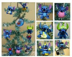 lilo and stitch 8 ornament set