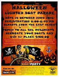 spring valley lake yacht club halloween lighted boat parade
