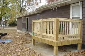smll how to build a small deck home design rchitecture bove ground