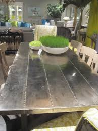 metal top kitchen table best 25 metal dining table ideas on pinterest made to measure tin