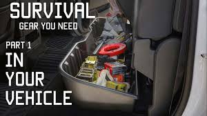 survival truck gear survival gear you should keep in your vehicle part 1 tactical