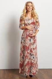 floral maxi dress light blue floral sash tie maternity nursing maxi dress