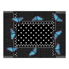 polka dots butterfly pattern office peace destiny poster