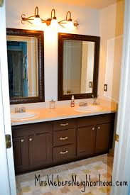 bathroom makeover ideas on a budget our 200 bathroom makeover mrs weber s neighborhood