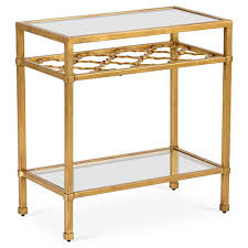 Quatrefoil Side Table Side Tables One